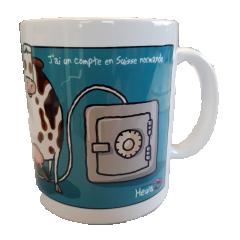 MUG HEULA - Mug HEULA avec dessin humouristique EXCLUSIVITE : OS Normande