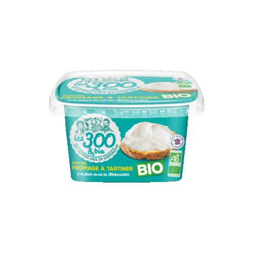 Notre fromage à tartiner - Formage à tartiner fabriqué à partir de lait entier 100% français et d'une touche de crème. Format 150g.