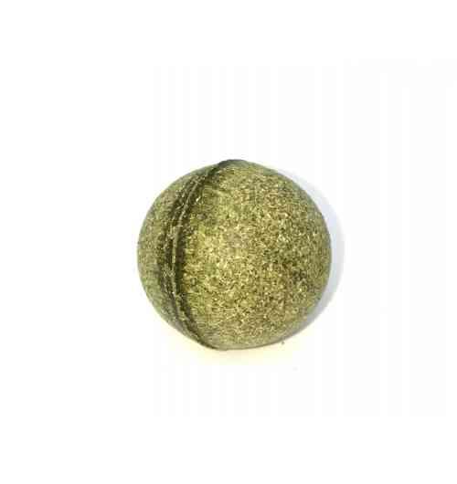 BALLE DE CATAIRE POUR CHATS - Jouet 100% naturel pour chat fabriqué à partir de cataire séchée, l'une des herbes aux chats aux effets euphorisants puis apaisants sur les félins