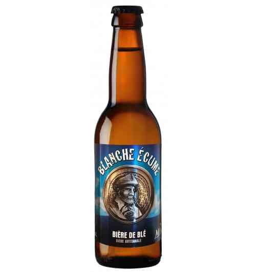 Blanche Écume - Bière blanche  Weizen bier  Bière de blé  5°