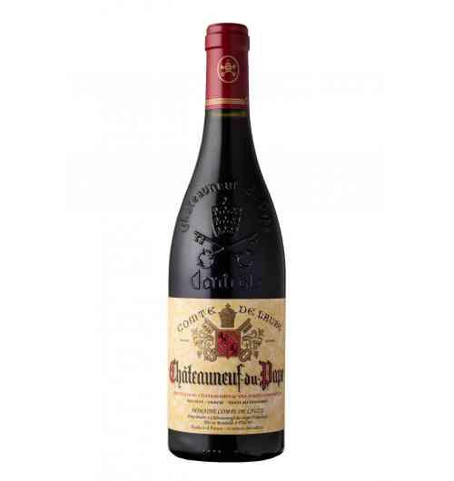 VINS AOC CHATEAUNEUF DU PAPE ROUGE - Nez puissant, sur les épices gourmandes, les fruits rouges, tel que la framboise, la myrtille, le cassis. En bouche les tanins sont bien présents, et très agréables. Il y a des notes boisées d'élevage, assez fondues et les fruits sont toujours présents. Ce vin est marqué par une belle puissance tout au long de sa dégustation.