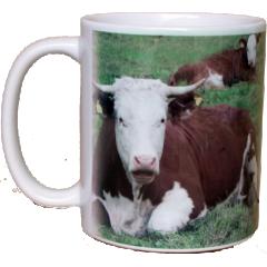 tasse - Tasse avec photo d'animaux Cheval chien chat vache cochon mouton chèvre