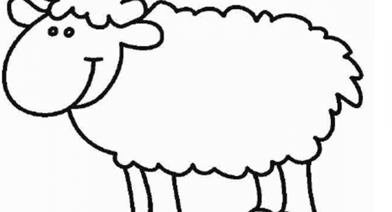 Pin moutons dessins picture on pinterest - Mouton a dessiner ...